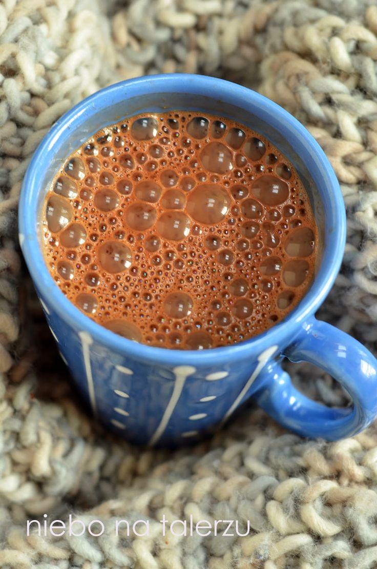 niebo na talerzu: Czekolada na gorąco. Jak zrobić prawdziwą czekoladę do picia ?