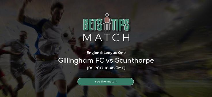 Gillingham FC vs Scunthorpe  26.09.2017 | Free betting tips, soccer bets, free soccer tips, h2h, daily football tips, standings, live score, fixtures, highlights