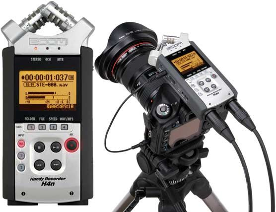 This is one of the best audio recorders that you can attach to your DSLR.  You can use it as an on camera audio recorder.  In addition, you could access external microphones to have better sound.  In my opinion this is a must for anyone interested in making videos and getting premium sound.
