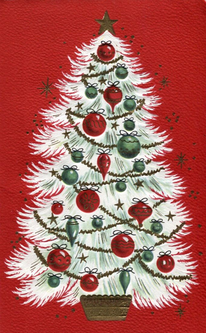 Christmas Cards With Trees