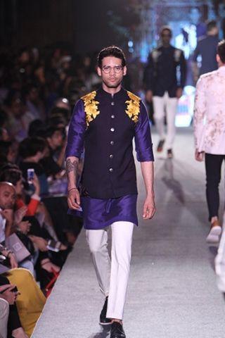Manish Malhotra Waistcoat and Kurta Suit Style