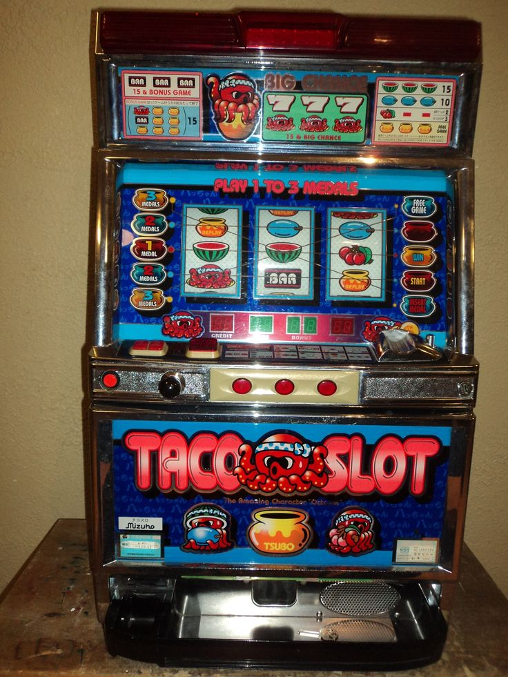 Skill stop slot machine parts