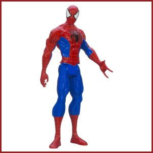 Ultimate Spider-man Titan Hero Series Spider-man Figure Large-sized superhero, 12-inch Spider-Man figure. http://theceramicchefknives.com/marvel-gift-ideas-amazing-spiderman/