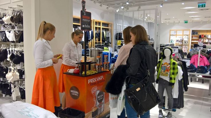 Sales House sales-promotion agency - Nescafe Azera - merchandising, promotion, field marketing, sales representatives, outsourcing, events, face-to-face marketing, audit, store check, marketing consultancy, customer care, sampling, road show, tasting, presentation