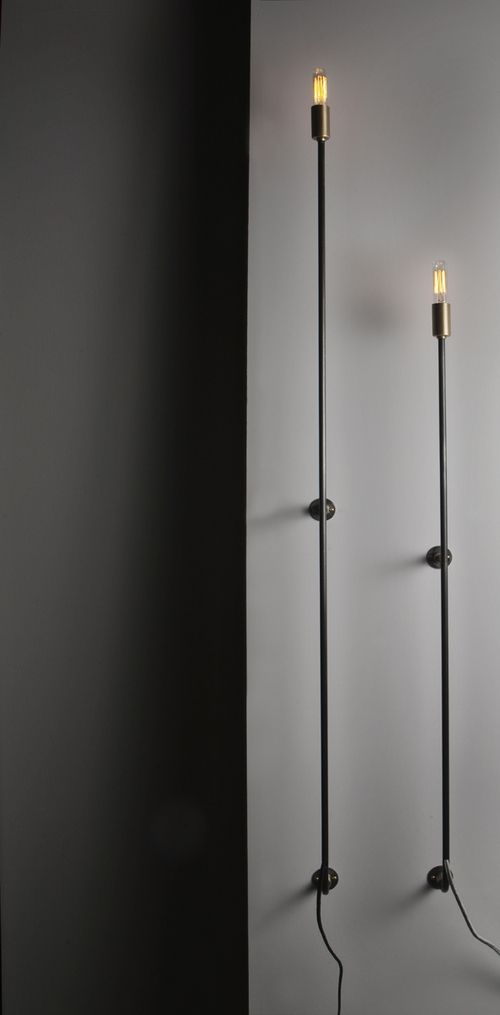 Skinny Sconce | John Beck Paper and Steel