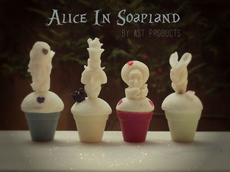 made of glycerin soap sculpure on soap  http://www.astproducts.gr/