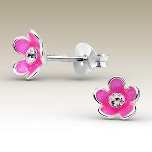 Leuke & vrolijke oorbellen voor meisjes, echt zilver en betaalbaar -Damessieraden en kindersieraden