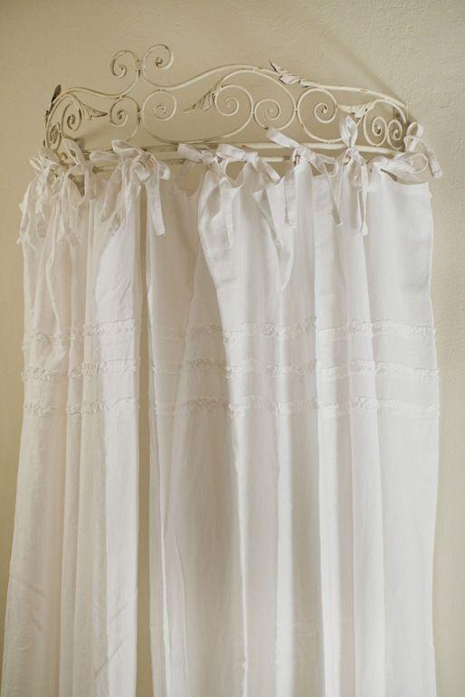 Oltre 25 fantastiche idee su tende di lino bianco su for Gazebo in stile francese