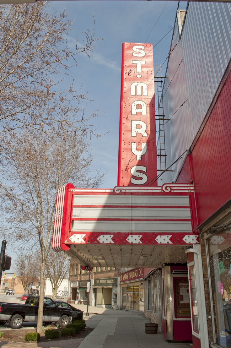 The Saint Marys Theater & Grand Opera House in St. Marys ...