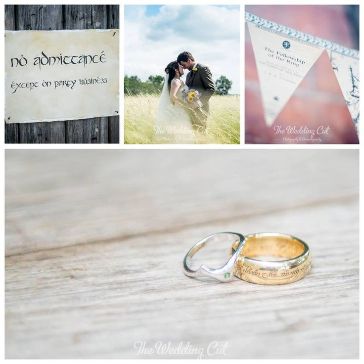 CONGRATULATIONS THOMAS & KATE Films play a very special part in their lives and Kate chose one of our 18ct Yellow Gold Movie rings, with a personal engraved message, for Thomas's wedding ring. They shared with us some gorgeous photos from their very happy, Hobbit wedding day. Their next planned adventure is to come to New Zealand to explore Middle Earth. We hope to see you both here in the Nelson studio one day! #JensHansenOneRing
