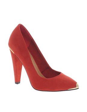 Bild 1 von ASOS – PROPHECY – Spitz zulaufende Schuhe mit hohem Absatz