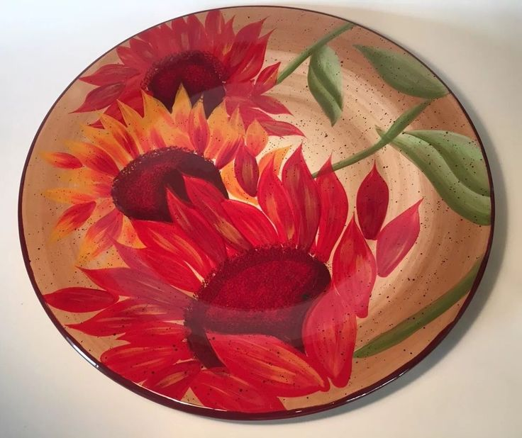 "Pfaltzgraff Evening Sun Large Platter 14"" Server Charger Centerpiece  
