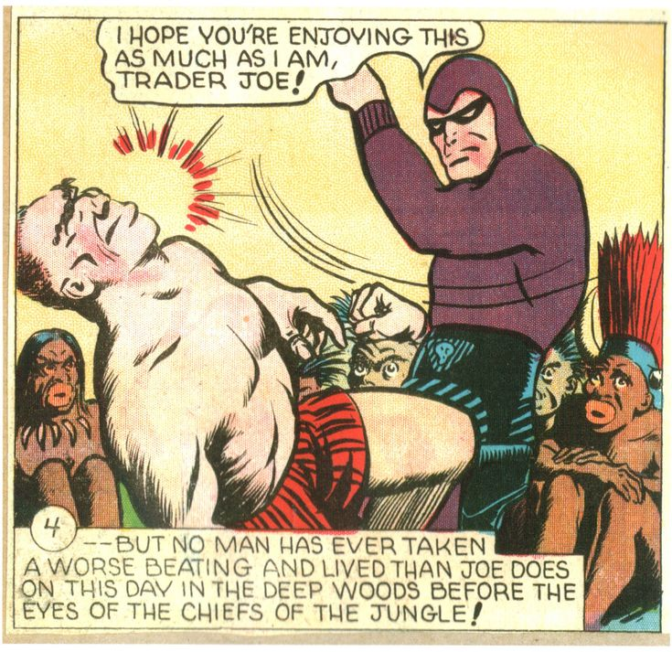 The Phantom enjoys himself, courtesy of Ray Moore...