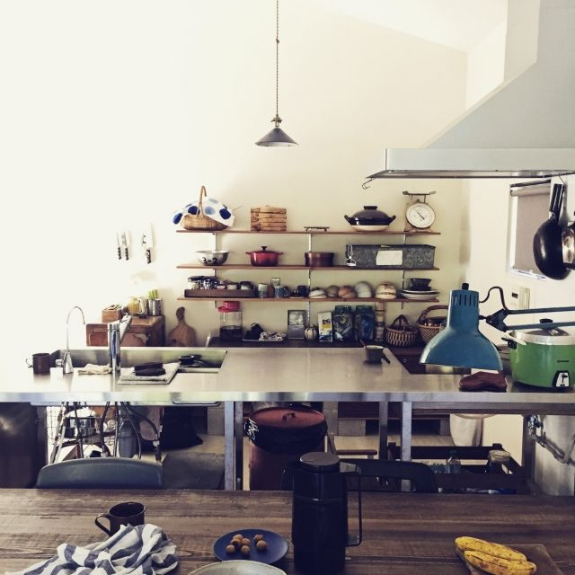 JUNKandRETROさんの、ジャンク,レトロ,平屋,キッチン,のお部屋写真