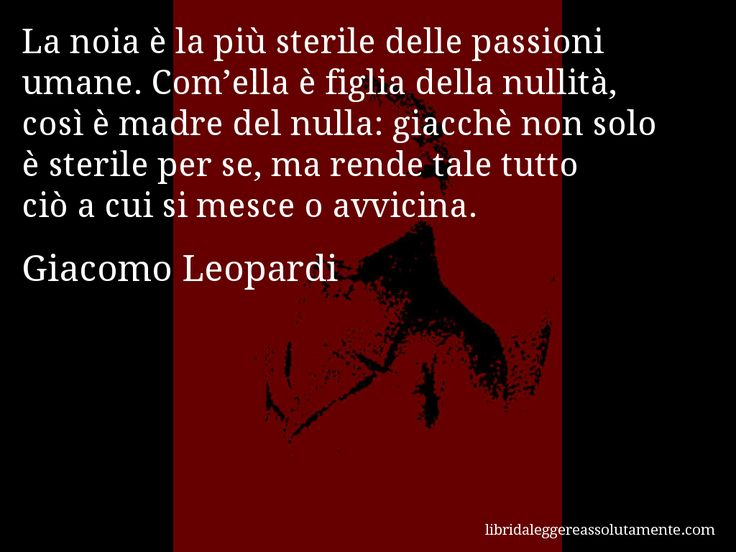 Cartolina con aforisma di Giacomo Leopardi (61)