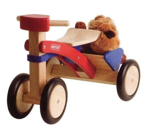 Pintoy Porteur tricycle en bois