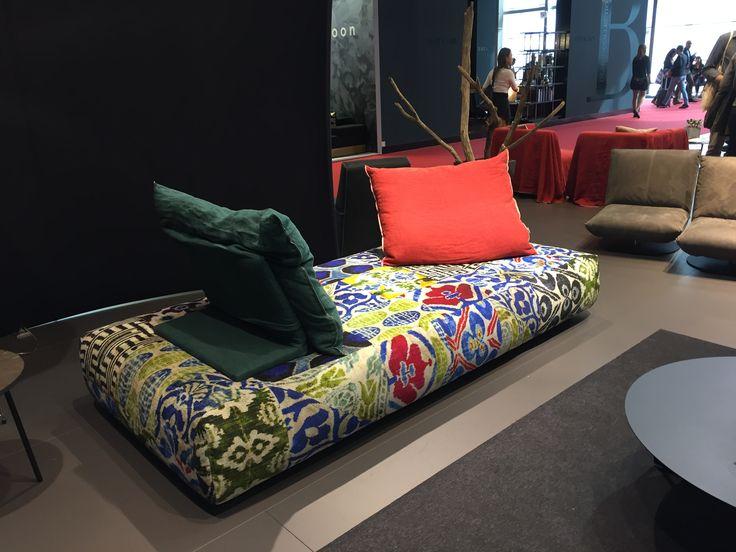 Daybed from Bullfrog-design in Austria. Salone del Mobile 2017, Milano. Photo: langbergdesign.com