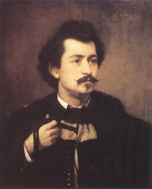 Madarász Viktor önarckép A legnagyobb magyar történeti festők egyike és   a hazai romantika egyik legjelentősebb alkotója. (Csetnek 1830-Budapest 1917)
