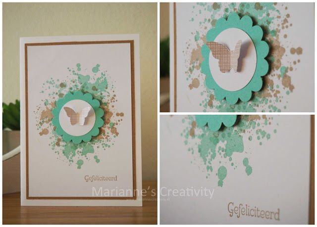 Marianne's Creativity: Gorgeous grunge butterfly