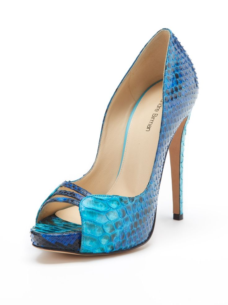 Alexandre Birman Python Pointed-Toe Pumps discount 100% guaranteed with paypal sale online from china free shipping cheap sale big discount 8diwugMeZ