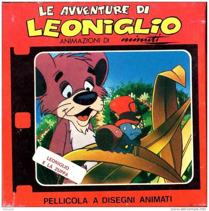 COLORE SUPER 8 - LE AVVENTURE DI LEONIGLIO e LA ZUPPA PELLICOLA A DISEGNI ANIMATI - 1976? URBS FILM - trasmesso RAI - TV
