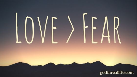 "I didn't realize that my ""loving actions"" were actually fear in disguise. How can we tell if our love is genuine or if we're merely trying to cover over fear of man?  https://godinreallife.com/2017/06/06/love-fear/"
