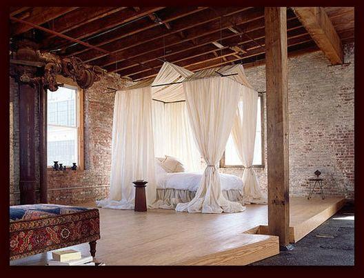 Bohemian bedroom. #Anthropologie #PinToWin