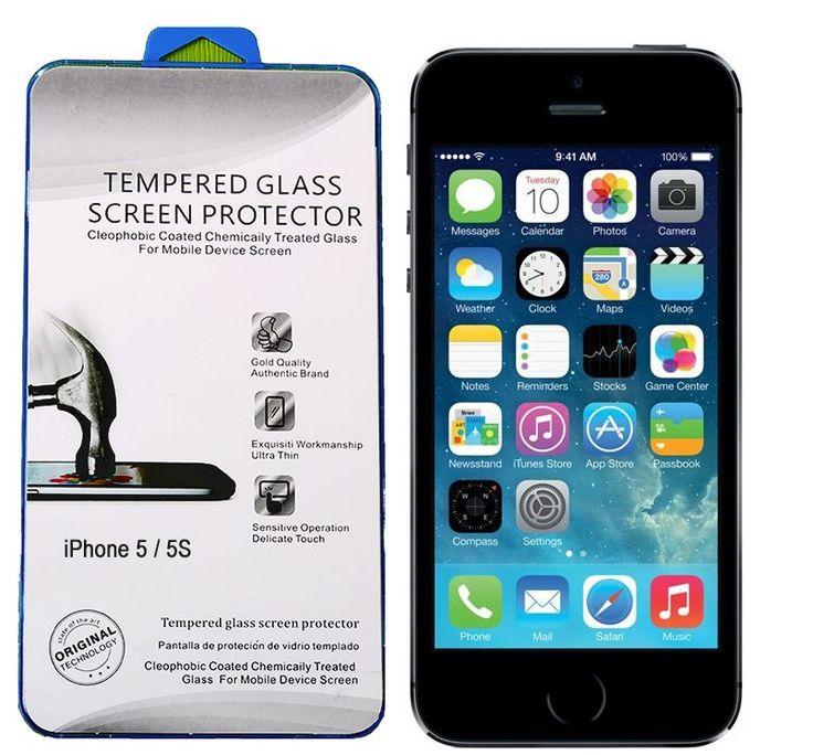 iPhone 5S Kırılmaz Cam Ekran Koruyucu