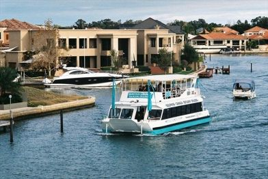 Mandurah Cruises is situated just an hour south of Perth, Western Australia, in the dolphin city of Mandurah where our multi-award winning cruises are Mandurah's No.1 tourist attraction.