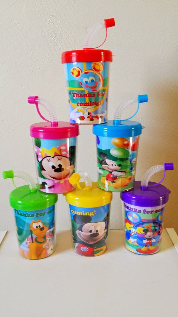 Mickey Mouse Clubhouse Party Favor Cups by PartyFavorCups4u