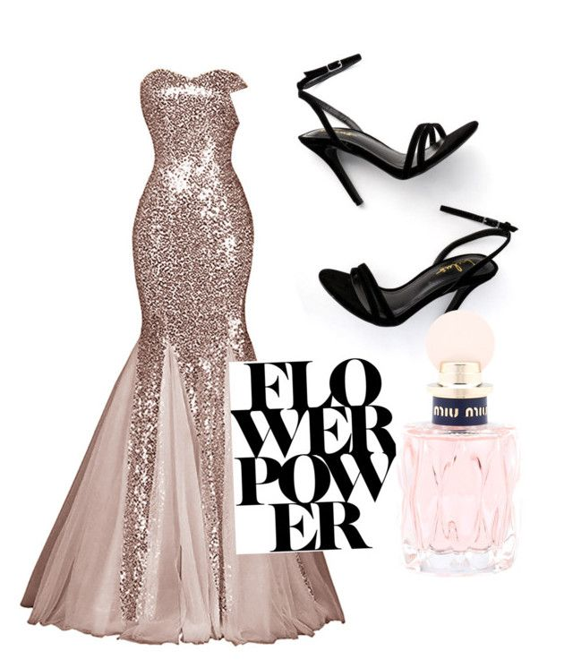 """🎉"" by isagarcia18 on Polyvore featuring LULUS and Miu Miu"