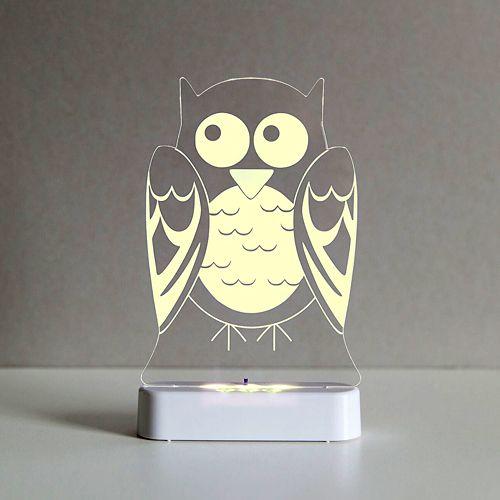 Hoot, hoot, goes the owl #alokasleepylight #kidsnightlight