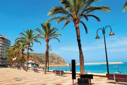 SPAIN.... JAVEA - The town has three main areas namely Javea old town, Javea port, & the beach area.