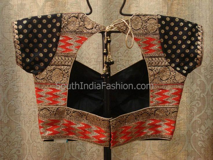 Blouse models Celebrity Sarees, Designer Sarees, Bridal Sarees, Latest Blouse Designs 2014 South India Fashion