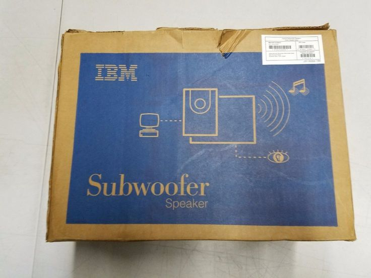 IBM Subwoofer Speaker for Aptiva Computers