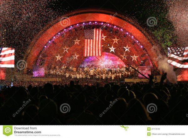 boston pops july 4th music