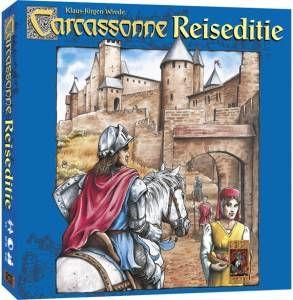 999 Games Carcassonne Reiseditie. Compacte reiseditie van het bekende legspel. Het bevat kleine multifunctionele en milieuvriendelijke onderdelen.Zo kunt u het spel overal mee naartoe nemen en spelen! http://www.carcassonne-winkel.com/999-games-carcassonne-reiseditie.html
