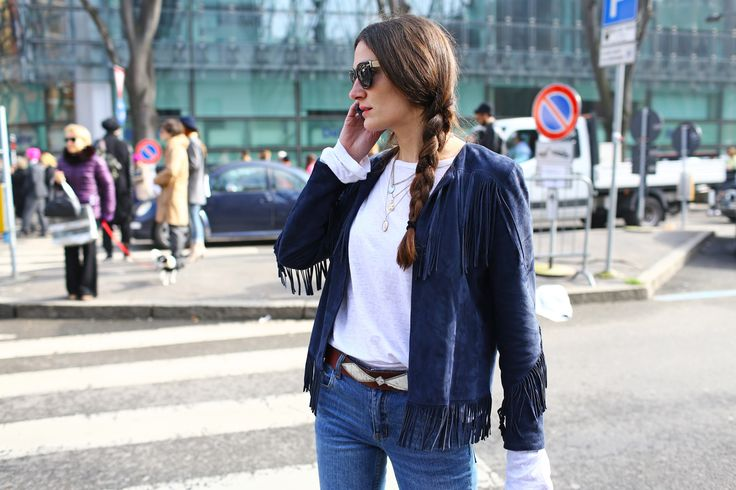 Street Style: Milan Fashion Week Fall 2014 - Vogue Daily - Fashion and Beauty News and Features