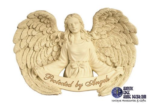 AngelStar Wall Art. We carry in store a selection of wall art by AngelStar.  This on is 'Protected By Angels' Info to follow.