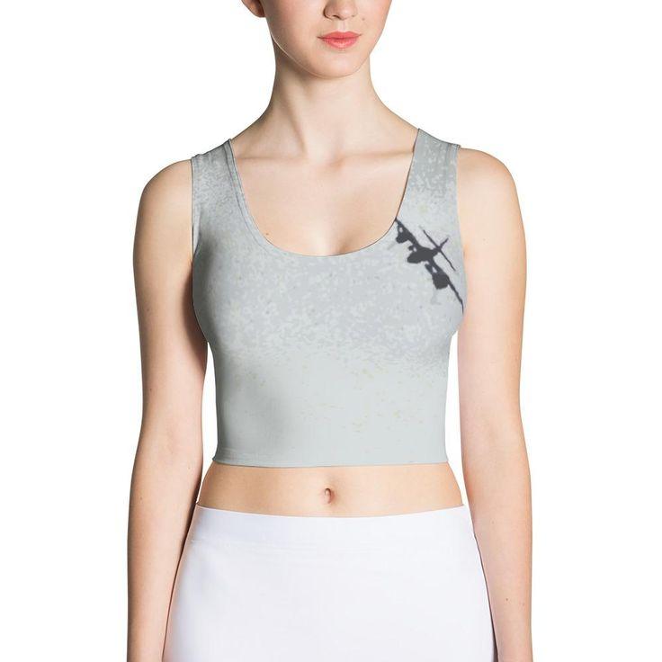 crop tops | crop top outfits | crop top outfits for teens | crop top outfits summer | airplane shirt women