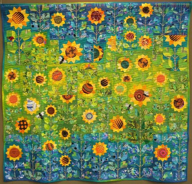 Dresden Sunflowers Original Design Quilt Ideas Dresden
