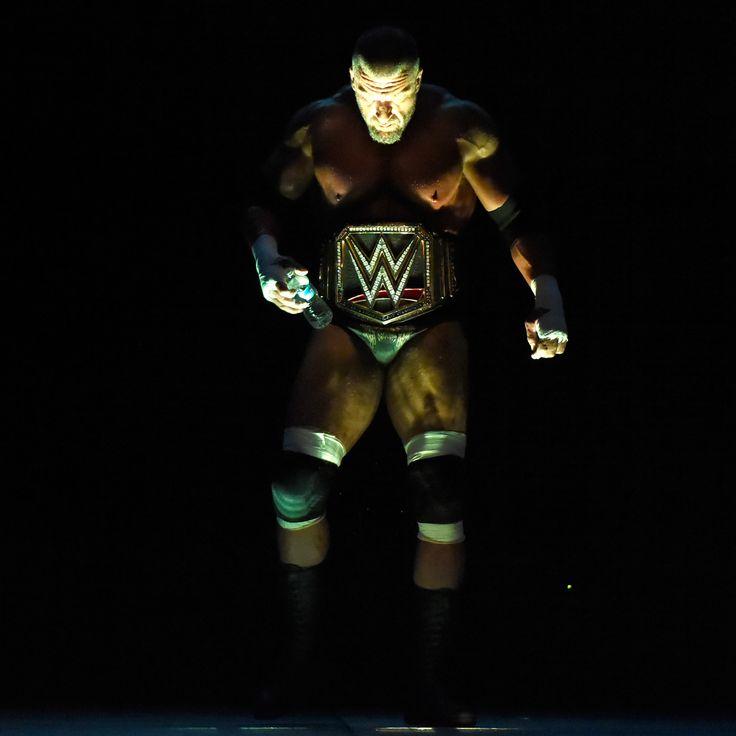 Triple H arrives on RAW