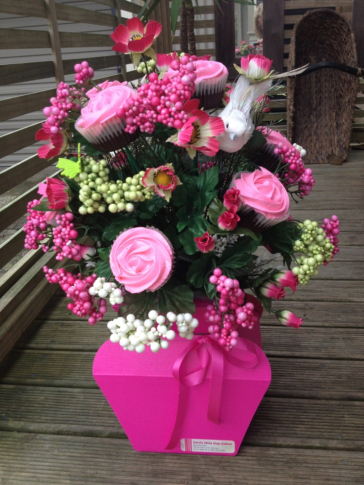 CupCake Rose Bouquet  1 dozen CupCakes in each Bouquet  Made by Little Miss CupCakes in   Hawera, New Zealand