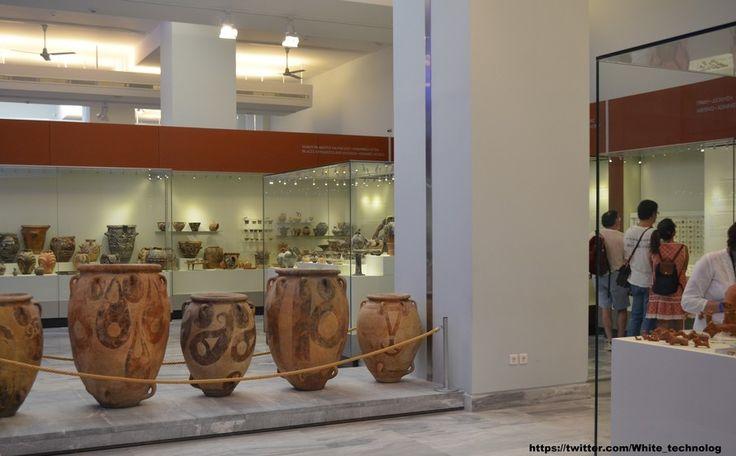 НОВЫЕ ПРАВЫЕ | WHITE Technologies 2033: Авторская колонка: Археологический музей Ираклиона...