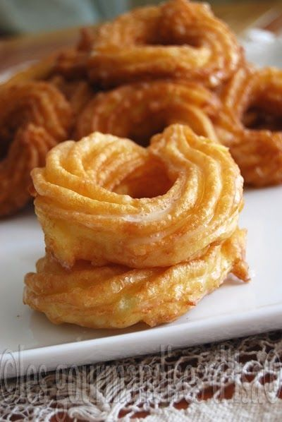Roussette donut! I must try these in the airfryer!
