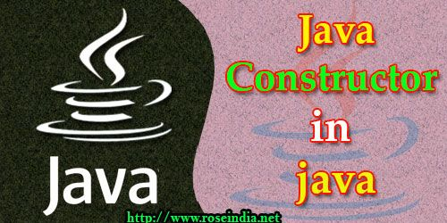 Java - Constructor in java