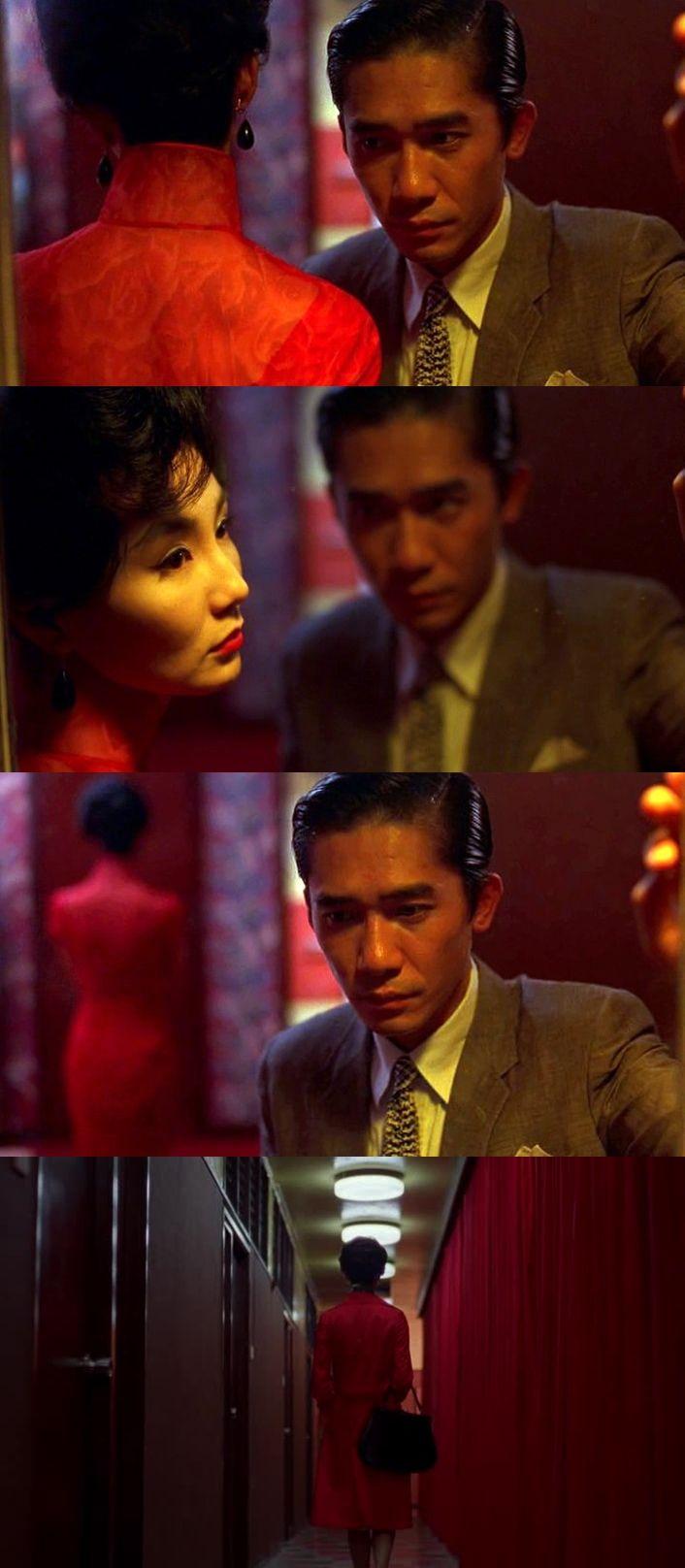Теплые краски, интригующие шорохи, молчаливые стены и грустный дождь. Возможность найти любовь через предательство, невозможность забыть предательство через любовь. Отчаянный взгляд и нечаянная любовь. Два одиночества и одиночество вдвоем. И красное платье Мэгги Чун (MaggieCheung), отделяющее до от после... Любовное настроение / Fa yeung nin wa (2000)