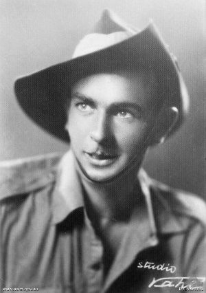 Private Bruce Steel Kingsbury was awarded the V.C. for gallantry while fighting the Japanese in Papua New Guinea.