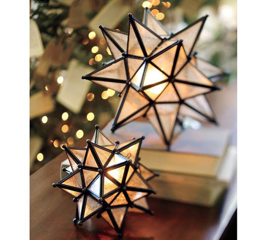 Christmas lantern orbs