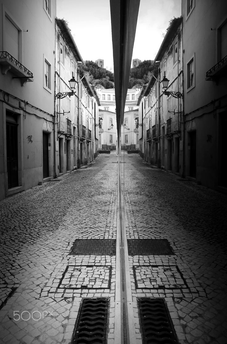 Gouble street - Leiria, Portugal
